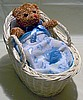 Medium Wicker Diaper Bassinet